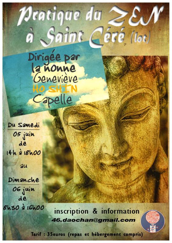 Sesshin de Saint Céré 2021: Zazen la méditation Zen, Groupe zen de Saint Céré