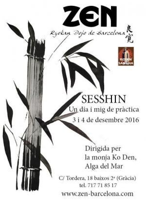 Sesshin de Barcelone 2016