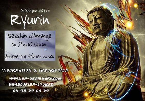 Sesshin d'Amange : retraite de méditation zen organisée par le dojo de Lyon