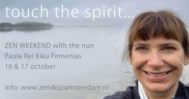 Sesshin à Amsterdam: Zazen la méditation Zen, Dojo Zen Amsterdam Gyo Kai
