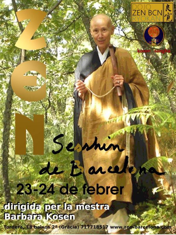 Sesshin de Barcelone 2019: Zazen la méditation Zen, Dojo Zen de Barcelone