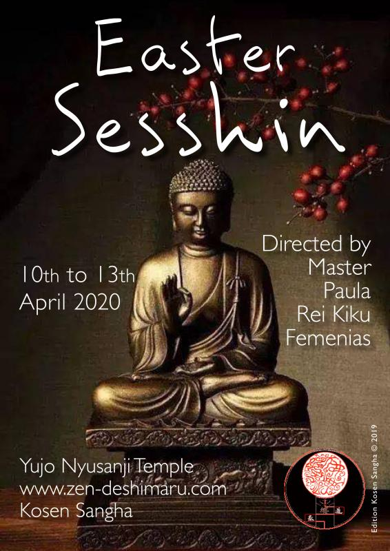 Easter Sesshin 2020: Zazen the méditation Zen, Caroux Temple near of Montpellier