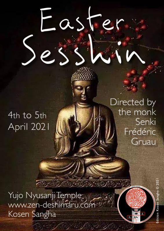 Easter Sesshin 2021: Zazen the méditation Zen, Caroux Temple near of Montpellier