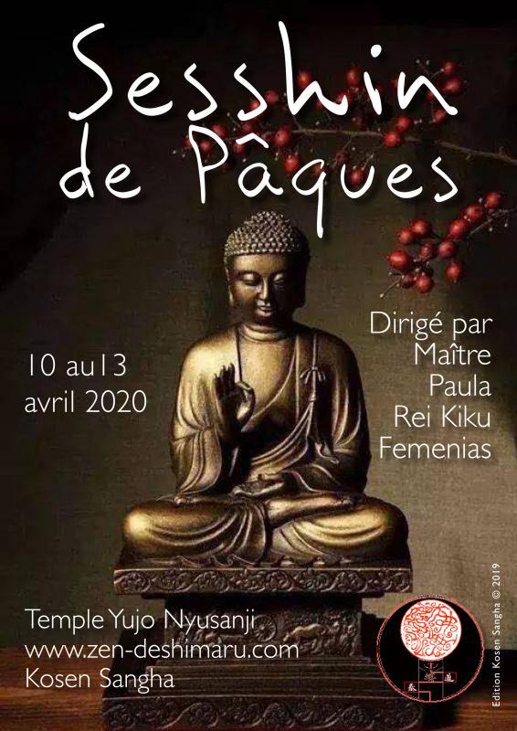 Sesshin de Pâques 2020: Zazen la méditation Zen, Temple du Caroux près de Montpellier