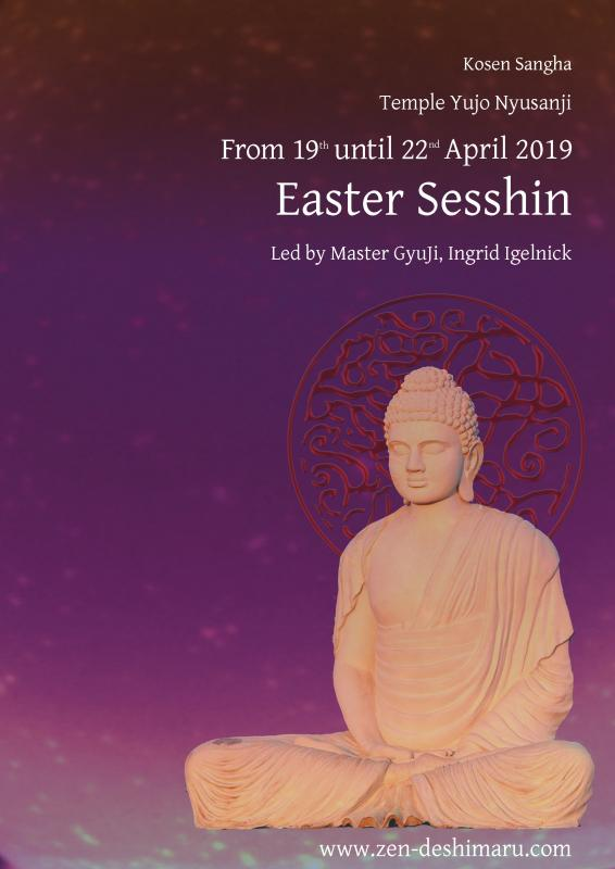Easter Sesshin 2019: Zazen the méditation Zen, Caroux Temple near of Montpellier