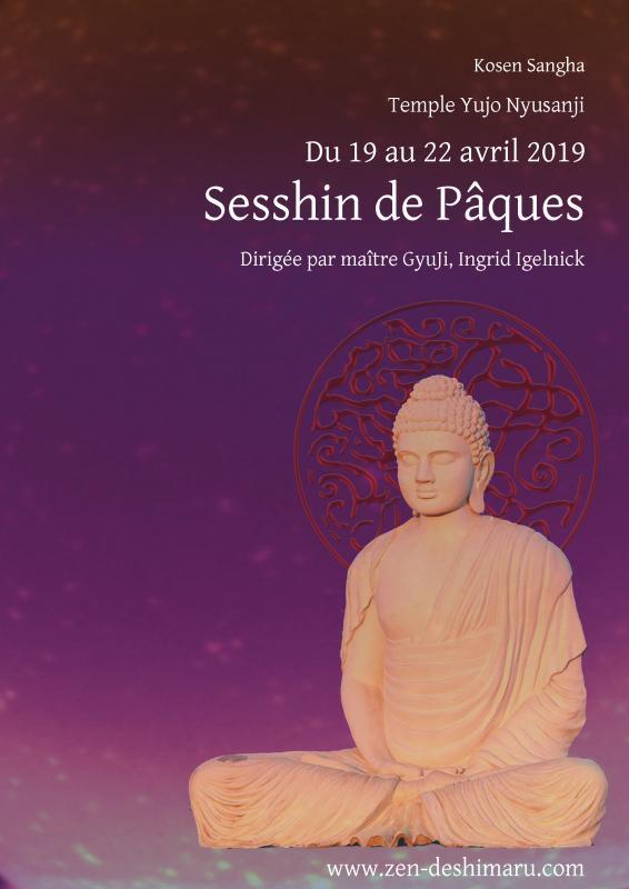 Sesshin de Pâques 2019: Zazen la méditation Zen, Temple du Caroux près de Montpellier