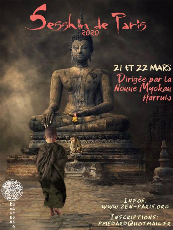 Sesshin of Paris 2020: Zazen the méditation Zen, Zen Dojo of Paris Kosen Sangha