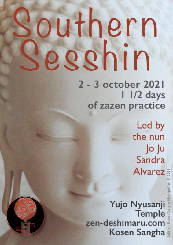 South Sesshin 2021: Zazen the méditation Zen, Caroux Temple near of Montpellier