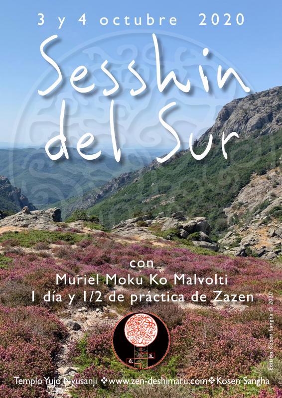 Sesshin del Sur 2020: Zazen la méditation Zen, Templo del Caroux cerca de Montpellier