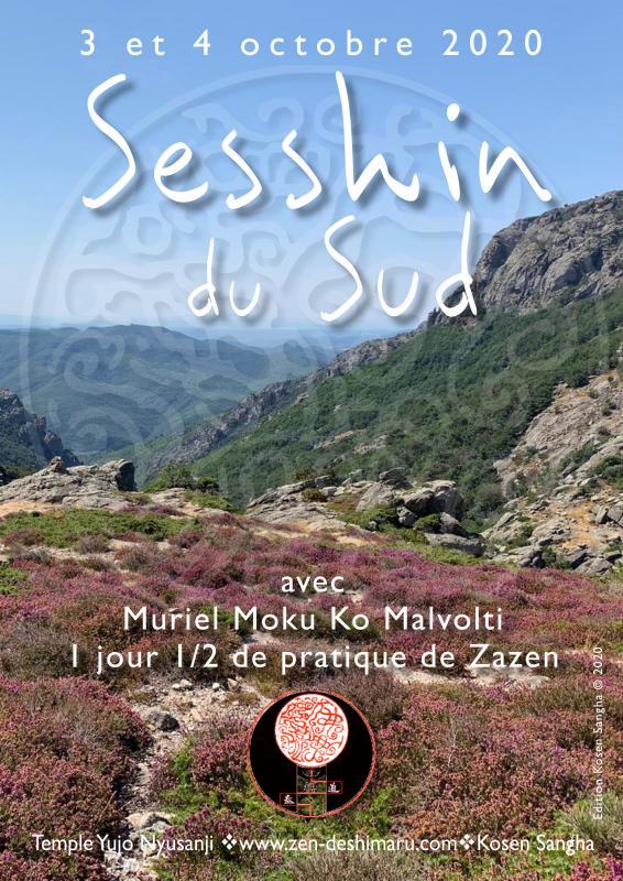 Sesshin du Sud 2020: Zazen la méditation Zen, Temple du Caroux près de Montpellier