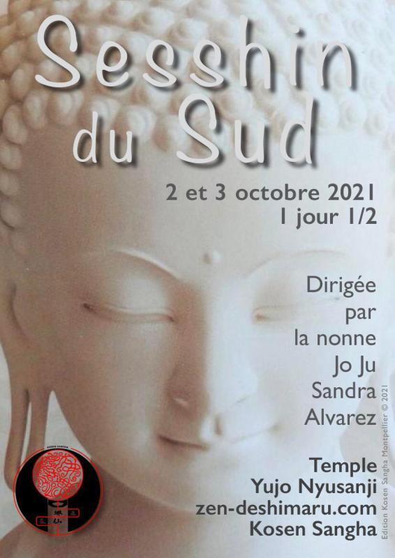 Sesshin du Sud 2021: Zazen la méditation Zen, Temple du Caroux près de Montpellier