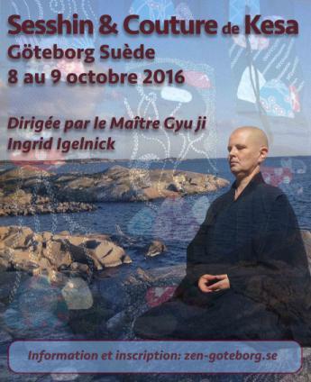 Sesshin de Suède 2016