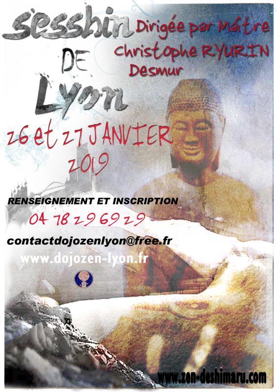 Sesshin de Lyon 2019: Zazen la méditation Zen, Dojo Zen de Lyon